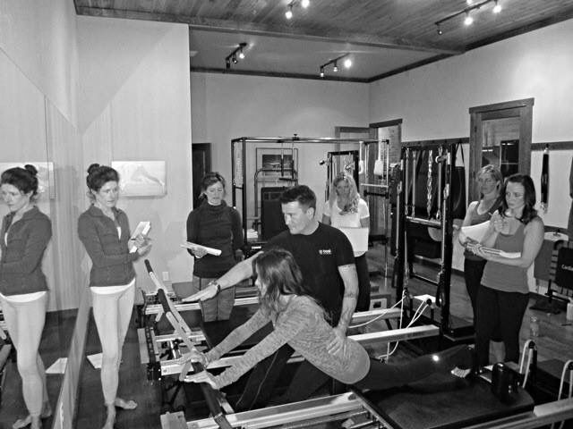 BASI Pilates teacher training course at Exhale Pilates