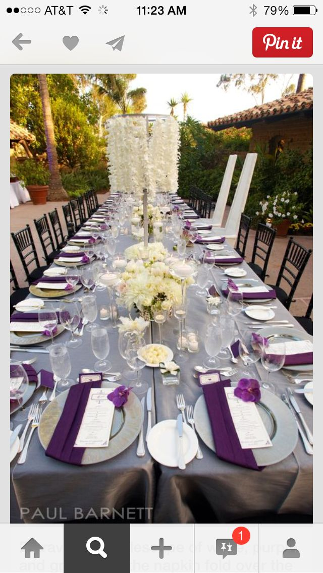 Table for reception