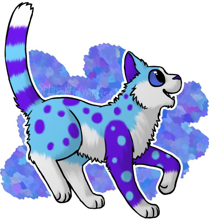 Splashkittyartist - I want a cat like her! She's so cute!