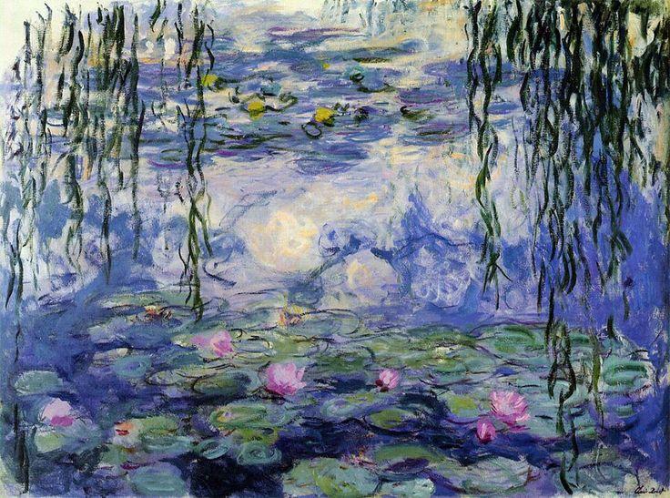 Lirios de agua   El pintor francés Claude Monet pintó una serie de 250 obras conocidas como Water Lilies entre 1840 y 1926 - que es exactamente lo que suena, 250 pinturas representando lirios de agua del estanque de su jardín. Mientras que esto no es una pintura individual, teniendo en cuenta la recaudación que se reparte entre las galerías más famosas del mundo, la serie merece estar en la lista.
