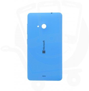 Genuine Microsoft Lumia 535 Cyan Battery Cover - 8003485 http://www.fonejoy.com/microsoft/lumia-535/battery-cover/genuine-microsoft-lumia-535-cyan-battery-cover-8003485.html