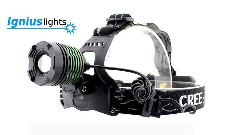Ignius Lights - H-1200 Zoom V2 - Hodelykter - 123friluft.no