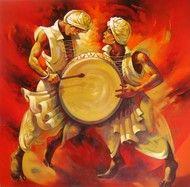 Acrylic on Canvas by Shankar Gojare