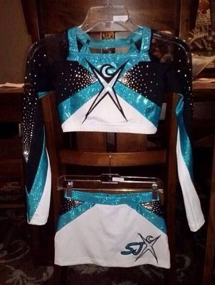 pretty: new uniforms for Cheer Extreme SJX