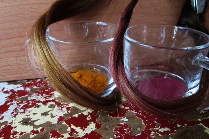 Dye Your Hair Pretty Much Any Color With Specially Brewed DIY Tea Before synthetic chemicals, natural ingredients were used to create colors and dyes for h