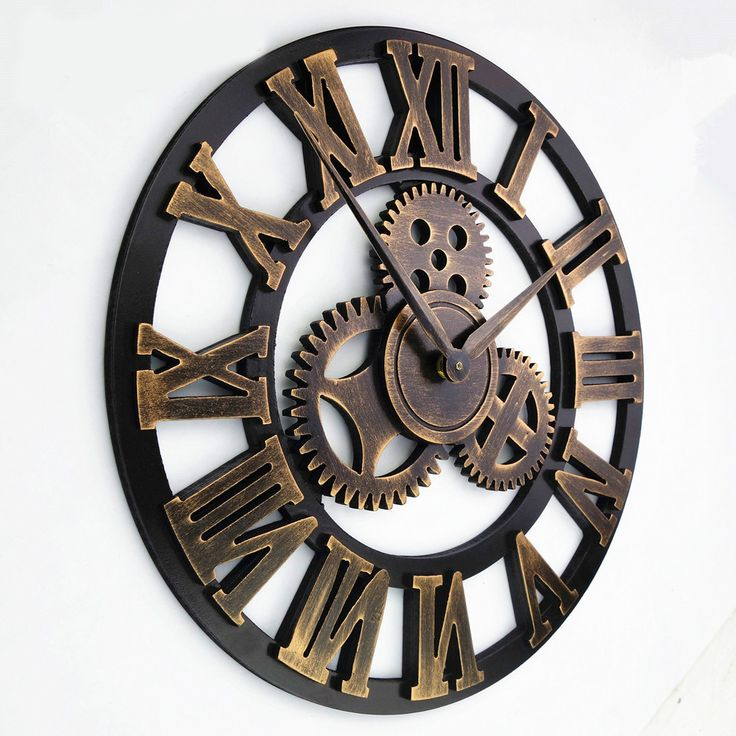 Handmade 3D Gear Wooden Wall Clock //Price: $66.47 & FREE Shipping //     #hashtag1
