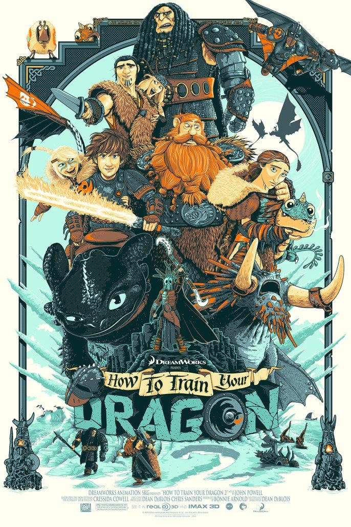 How to Train Your Dragon 2 - Patrick Connan