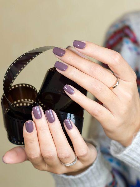 China Glaze, Below Deck, сиреневый лак, лак для ногтей, серый лак, чайна глейз