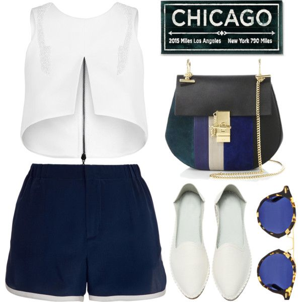 CHICAGO. by shanelala on Polyvore featuring Maticevski, Thakoon Addition and Chloé