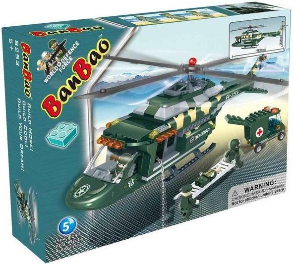 Banbao 8253 Военный вертолет-спасатель