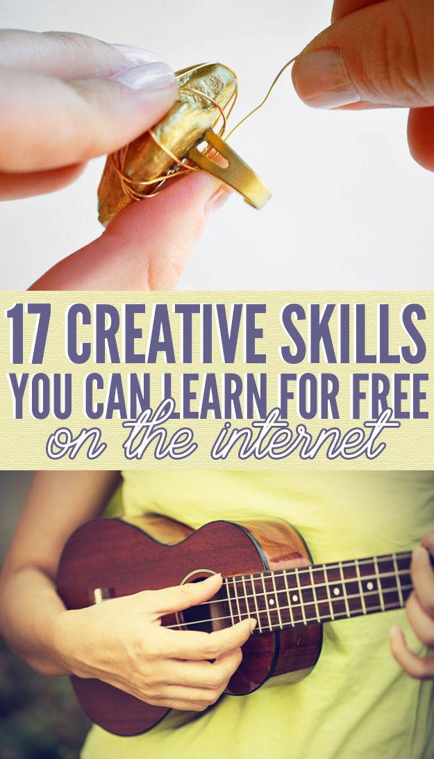17 Hobbies You Can Pick Up For Free Online: writing, photography, blogging, yoga, make-up and lots more.