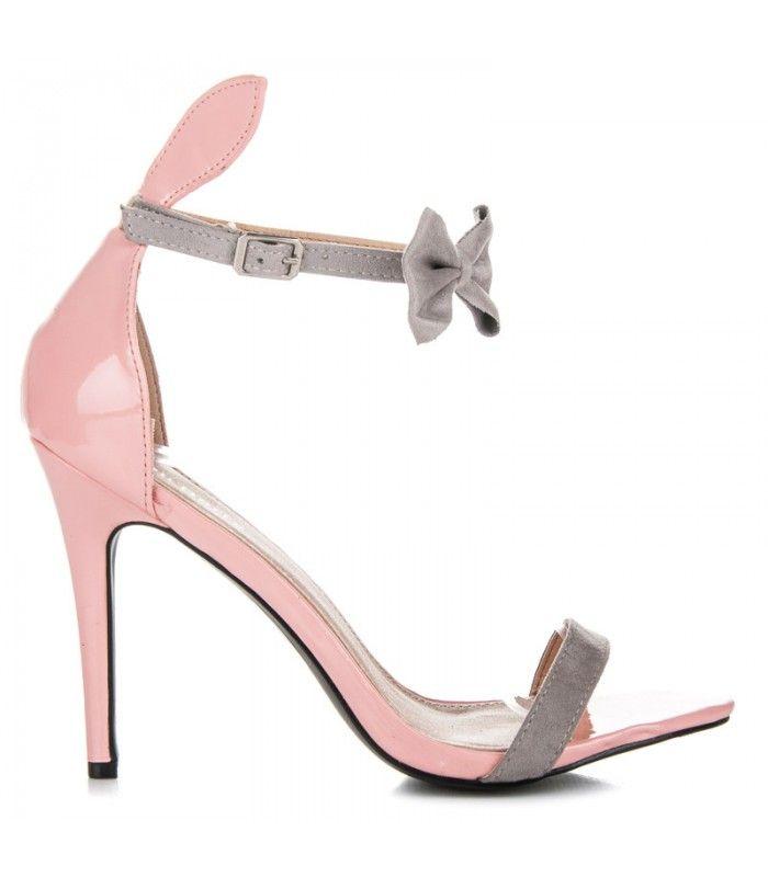 Lakované sandále s uškami 108-3P