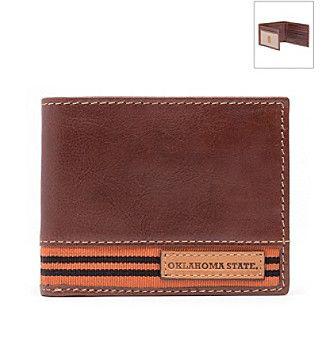 Jack Mason NCAA® Oklahoma State Cowboys Tailgate Traveler Wallet