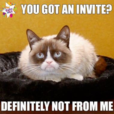 Grumpy Cat's Birthday Party