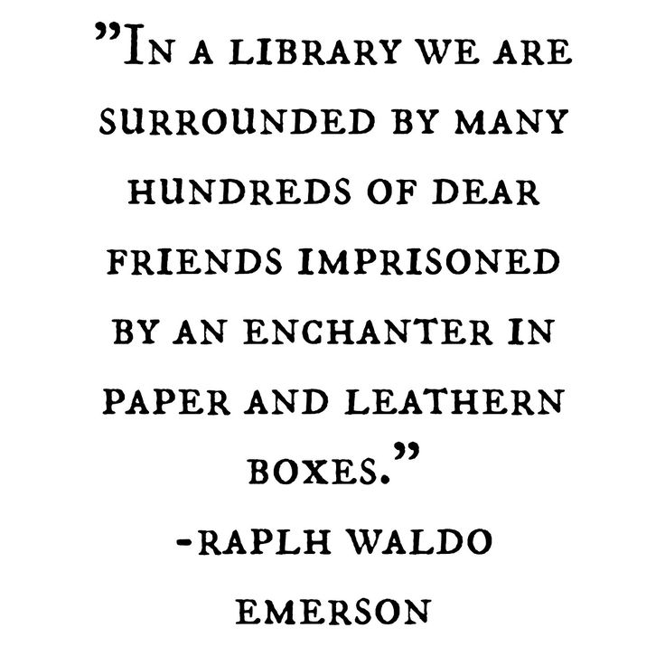 In a #Library we are surrounded by many hundreds of dear friends imprisoned by…