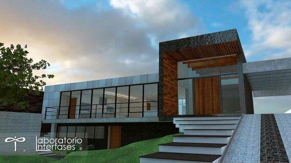 Casa habitación #arquitectura #diseño #renders #materiales #habitación