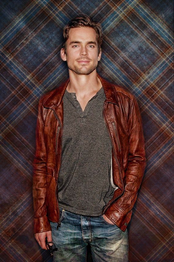 Leather jacket is a classic!