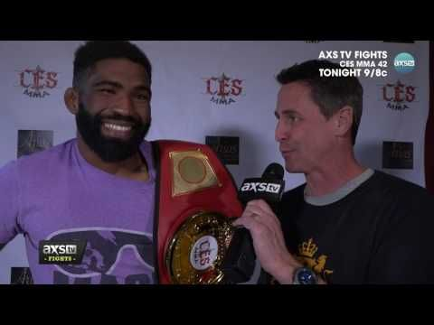 MMA Chris Curtis speaks with AXS TV's Ron Kruck ahead of CES MMA 42
