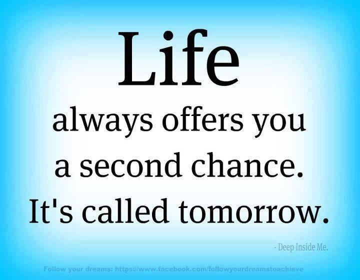 Quotes About Second Chance: Second Chance