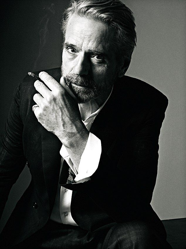 "'Really, ambition has gone. I look for things that tickle my fancy. You begin to see the end of life on the horizon. You think, ""It's not going on for ever, this. Let's make the most of what time I have left"",' said Jeremy Irons"