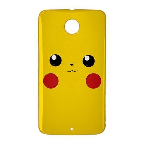 Pikachu Pokemon GO Google Nexus 6 Case Cover Wrap Around