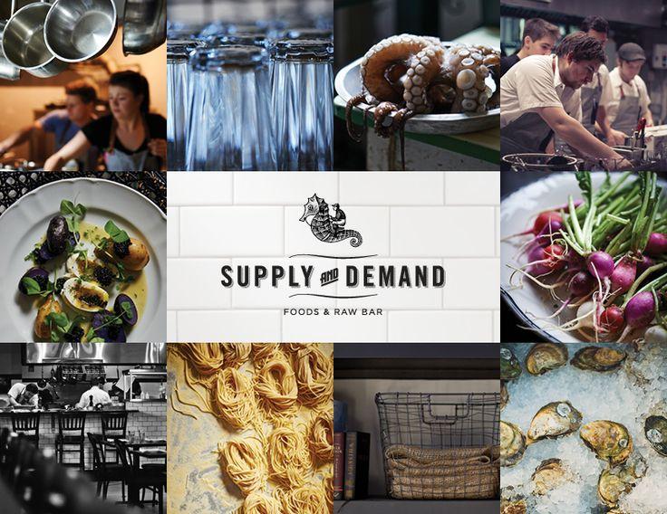 SUPPLY + DEMAND FOODS Restaurant  www.supplyanddemandfoods.ca