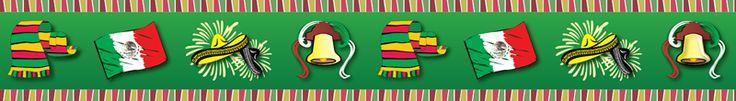 Orilla Temática  O/001Mes de la Patria  Diseñada para conmemorar las festividades mexicanas.