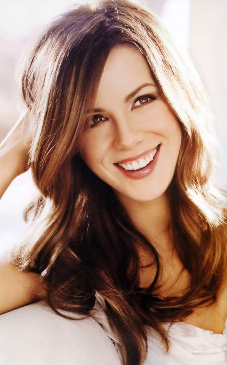 Kate Beckinsale long hair style