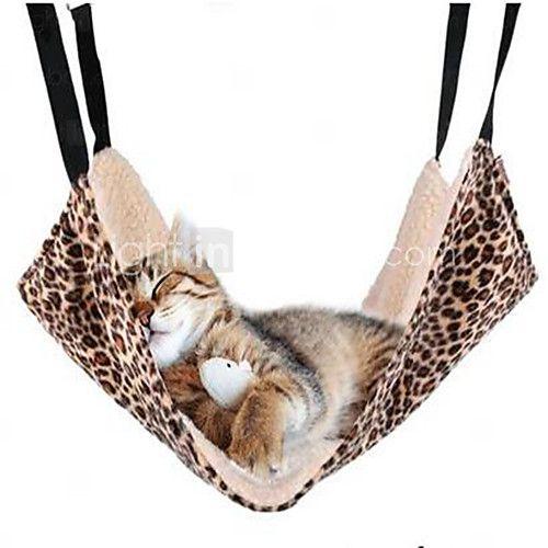 Kat bedden Huisdieren draagbaar / Dubbelzijdig / Luipaard / Zebra zwart / wit Stof / katoen - USD $9.99