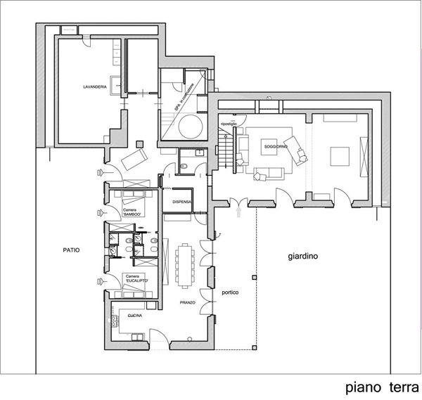 133 besten plans bilder auf pinterest grundrisse wohnen for Piani casa rustica