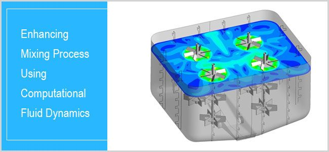Enhancing Mixing Process Using Computational Fluid Dynamics