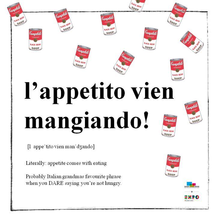 Learning Italian Language ~ Learn #Italian with #ShortFoodMovie! Lesson #6