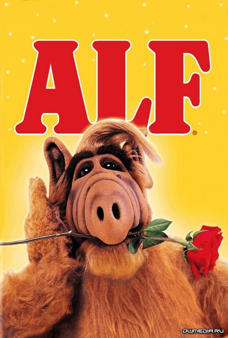 Alf. Jaren 80. De begin tijd van de vele Amerikaanse comedy series op tv. (Na de Cosby show) Alf was niet bijzonder leuk, soms zelfs een beetje flauw en ik keek er dan ook alleen maar naar wanneer het bij iemand anders op stond. Toch leefden er vele kijkers mee met deze beetje zielige en zeer ondeugende .... tja wat was het eigenlijk voor een beest?