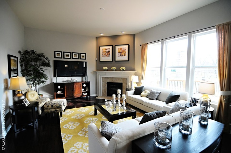 22 best images about pulte crestwood on pinterest - Fireplaces for small spaces property ...