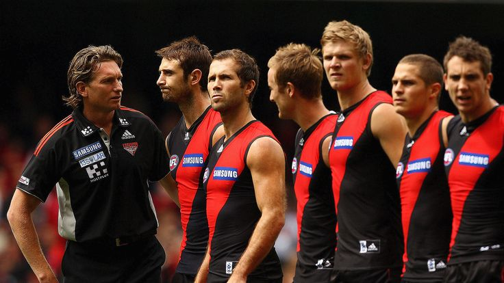 Essendon, James Hird and Bomber Thompson