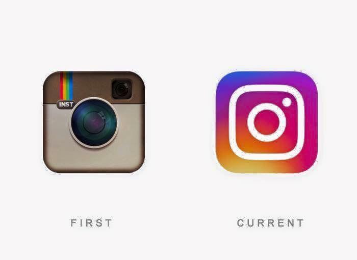 El primer y ultimo #logotipo de #Instagram hasta la fecha.