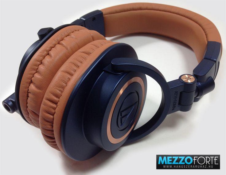 Audio-Technica ATH-M50x BL fejhallgató