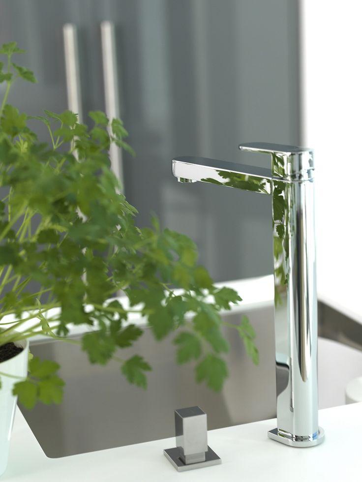 Noken Kitchens Hotels single lever sink mixer   Image Gallery | Noken Design
