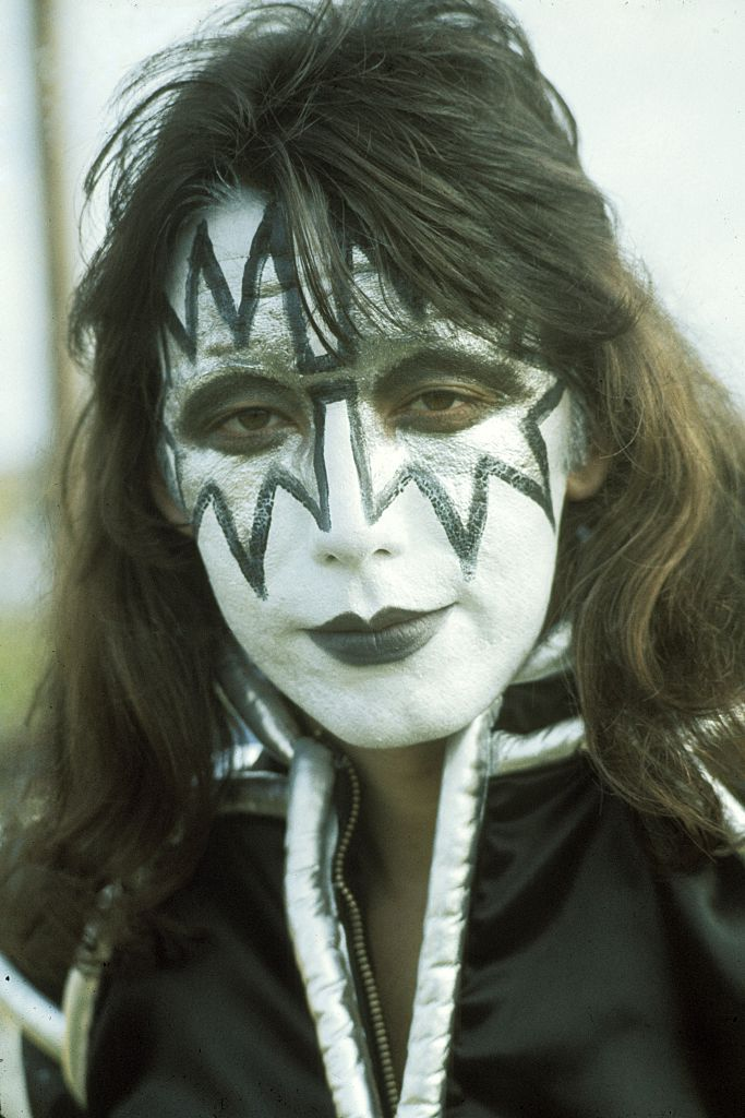 Lead Guitarist Ace Frehley Of American Hard Rock Band Kiss On