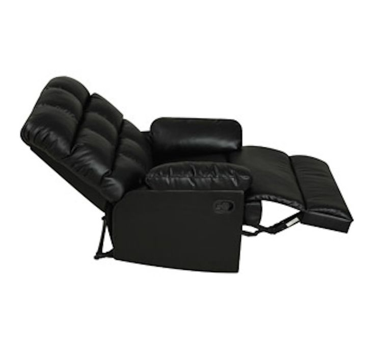 ProLounger Wall Hugger Biscuit Back Renu Living Leather Recliner Chair Black  sc 1 st  Pinterest & 7 best #1 Leather Recliner Chairs Set of 2 images on Pinterest ... islam-shia.org