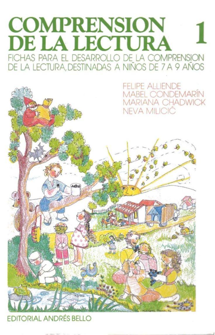 COMPRENSION 1 DE LA LECTURA FICHAS PARA EL DESARROLLO DE LA COMPRENSIOO DE LA LECTURA DESTINADAS A NIÑOS DE 7 A 9 AÑOS