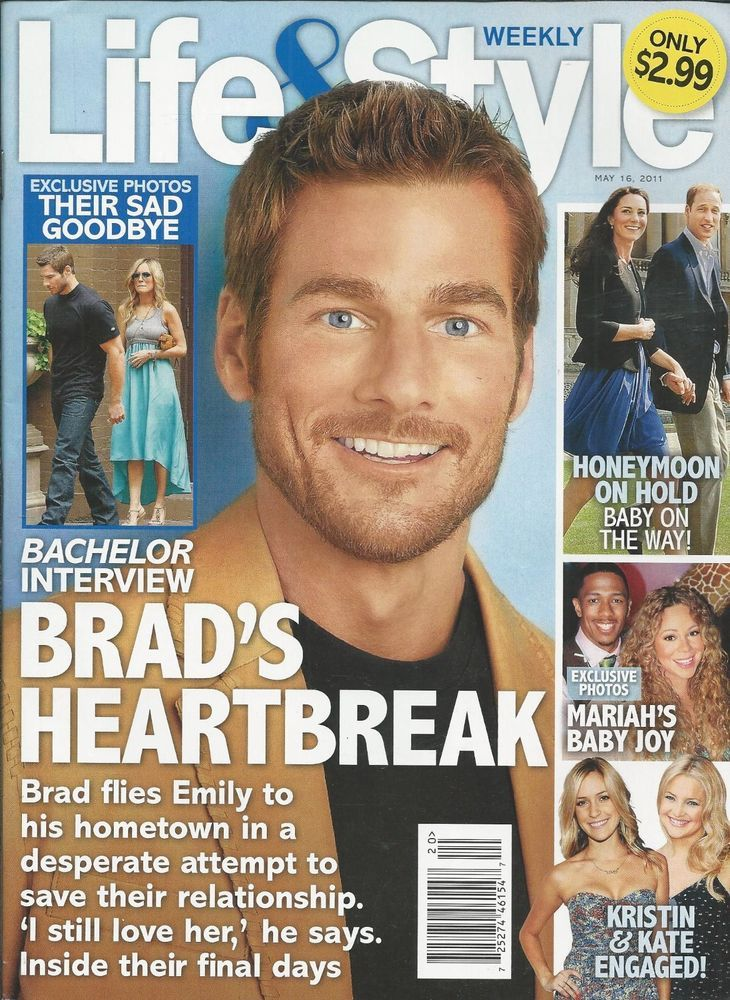 Life and Style magazine The Bachelor Kate Middleton Prince William Mariah Carey