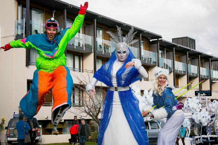 FLAME Entertainment in the Parade #Queenstown #Wintertravels