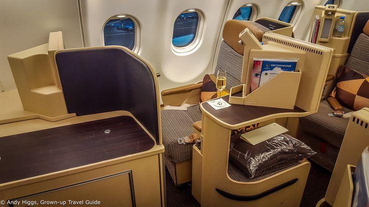 Flight report: Etihad A330 Business Class Frankfurt to Johannesburg via Abu Dhabi