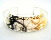 Plexiglass Bracelet Bangle , fantastic handmade jewelry
