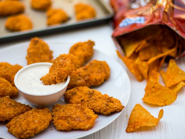 Dorito Chicken Fingers: There are so many flavors of Doritos that I will have fun trying this recipe with Cool Ranch, Sweet Chili Heat and other great Doritos flavors!