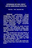 Apresiasi Hitung Cepat untuk Mencegah Korupsi - Solo Pos - Oleh : Nasrullah Idris