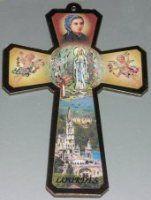 Bernadette Cross Wall Plaque.