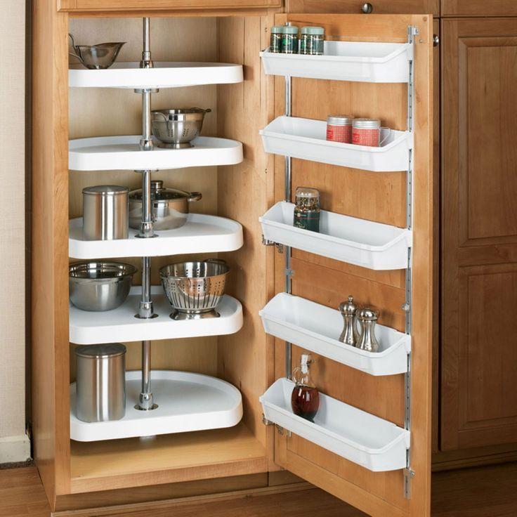 Rev A Shelf D Shaped 5 Shelf Pantry Lazy Susan R6265 22 11 52 Cabinet Door Storage Shelves Door Storage