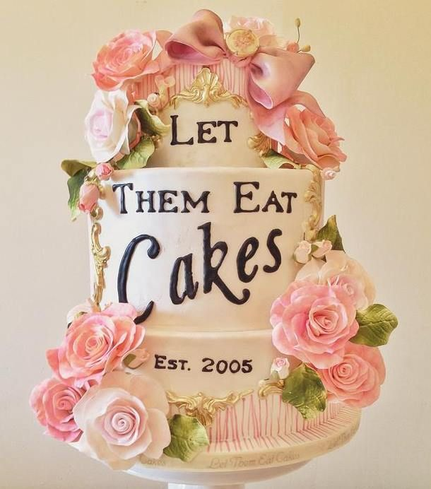 Cake art by Let Them Eat Cakes